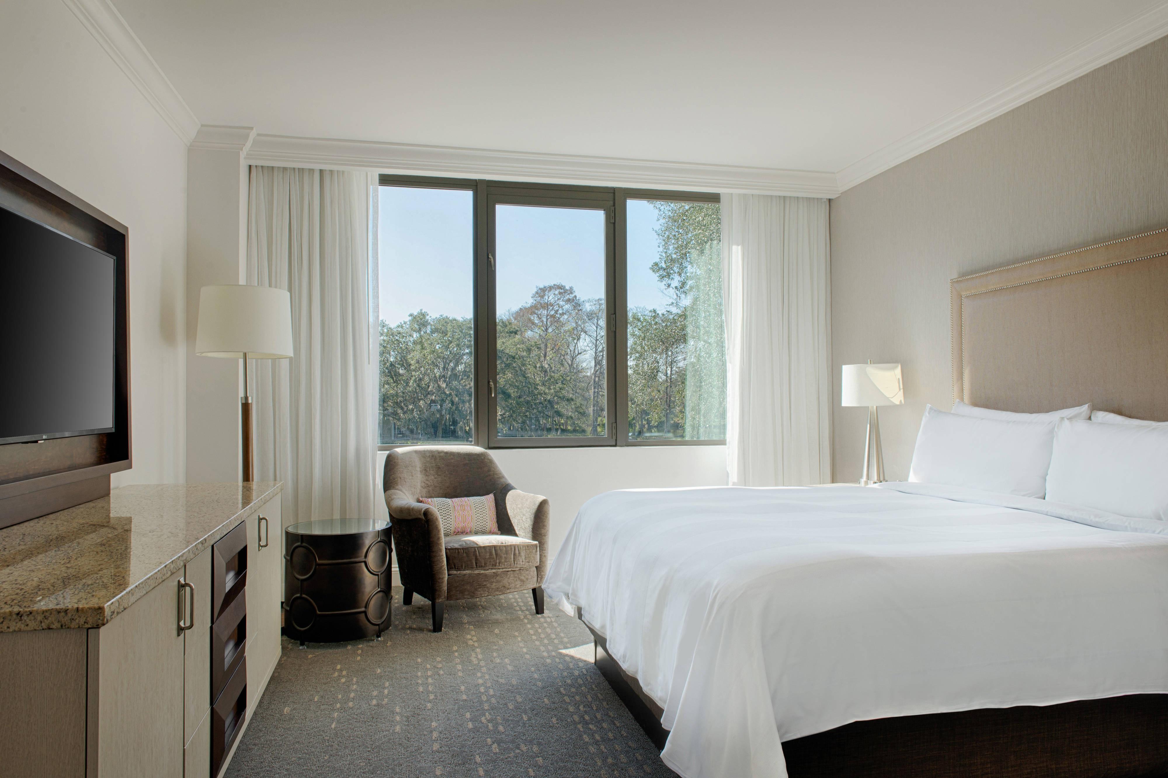 Suite con servicio Premium - Dormitorio con King