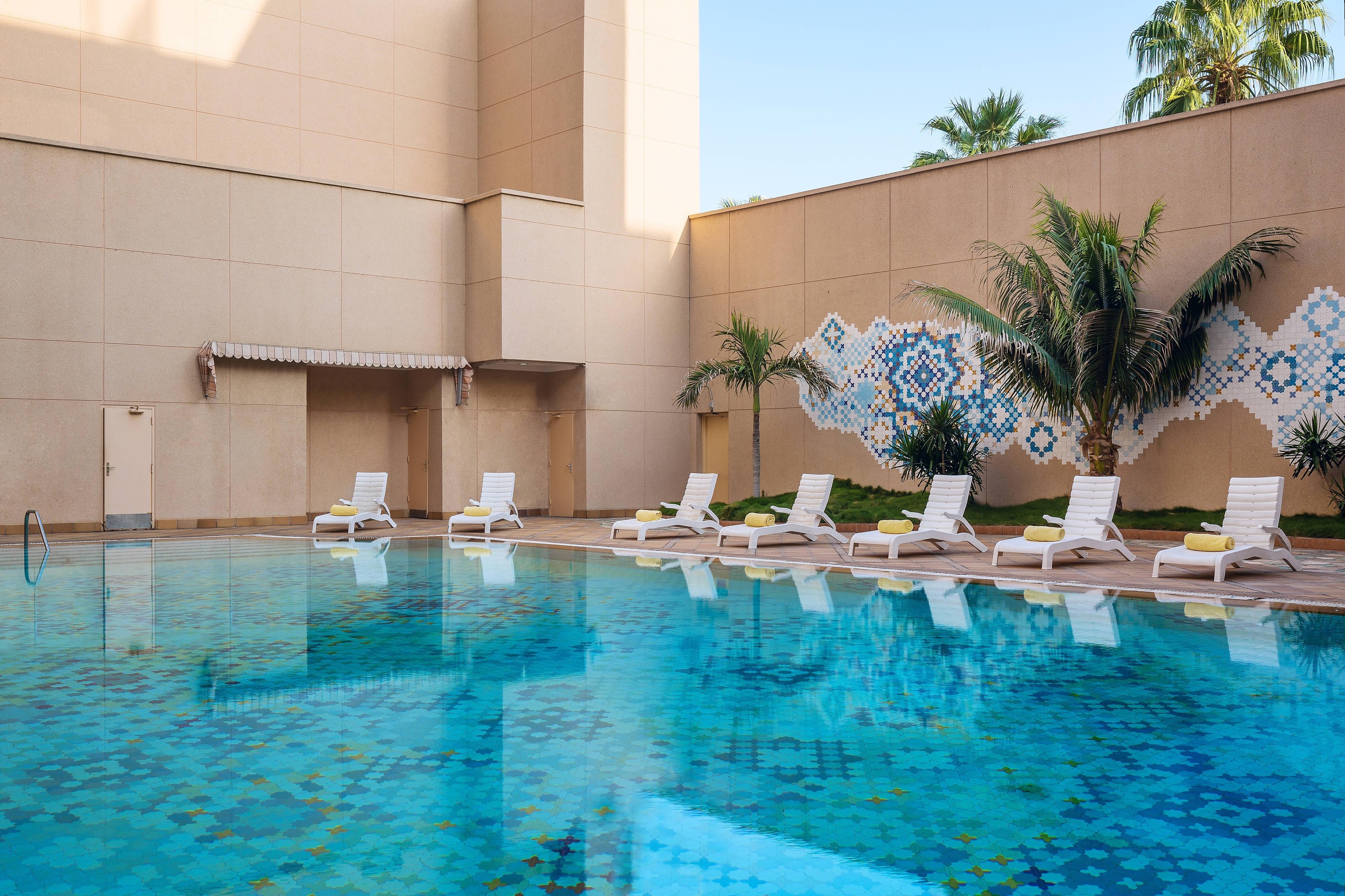 ルメリディアン・ジェッダの屋外プール