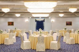 قاعة حفلات شيراتون، الزفاف