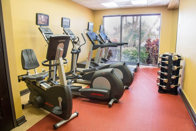 Hutchinson Beach Florida Hotel Gym