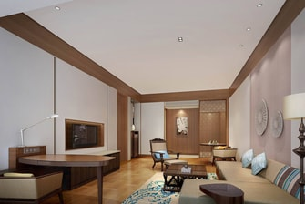 Club Suite - Living Room - Rendering