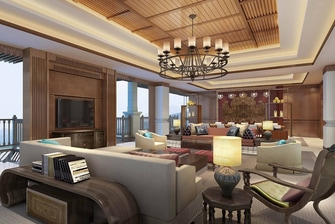 Presidential Suite Dining Room - Rendering
