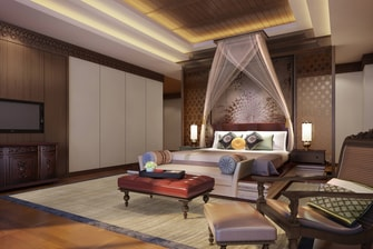 Presidential Suite - Living Room - Rendering