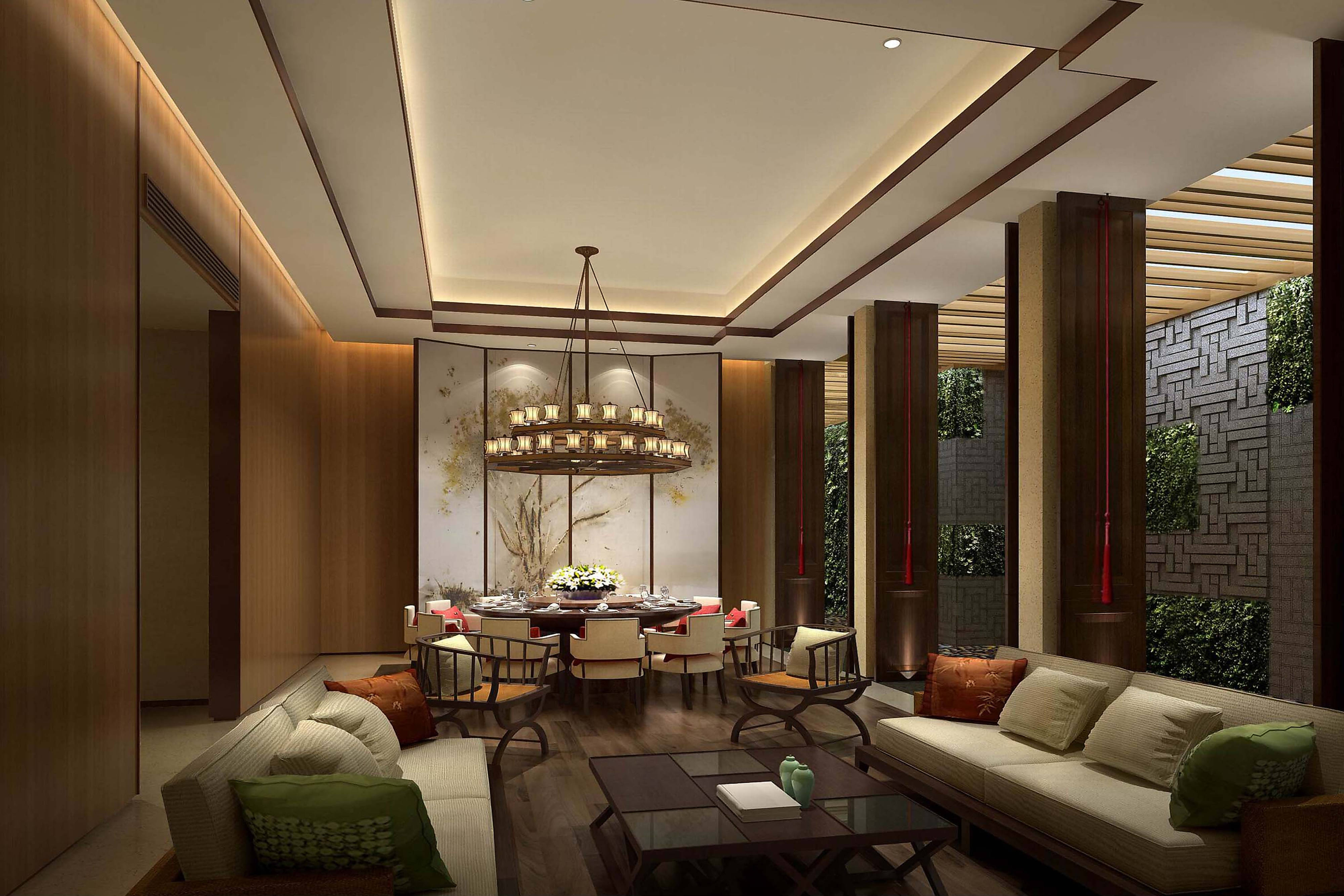 YUE Private Room - Rendering