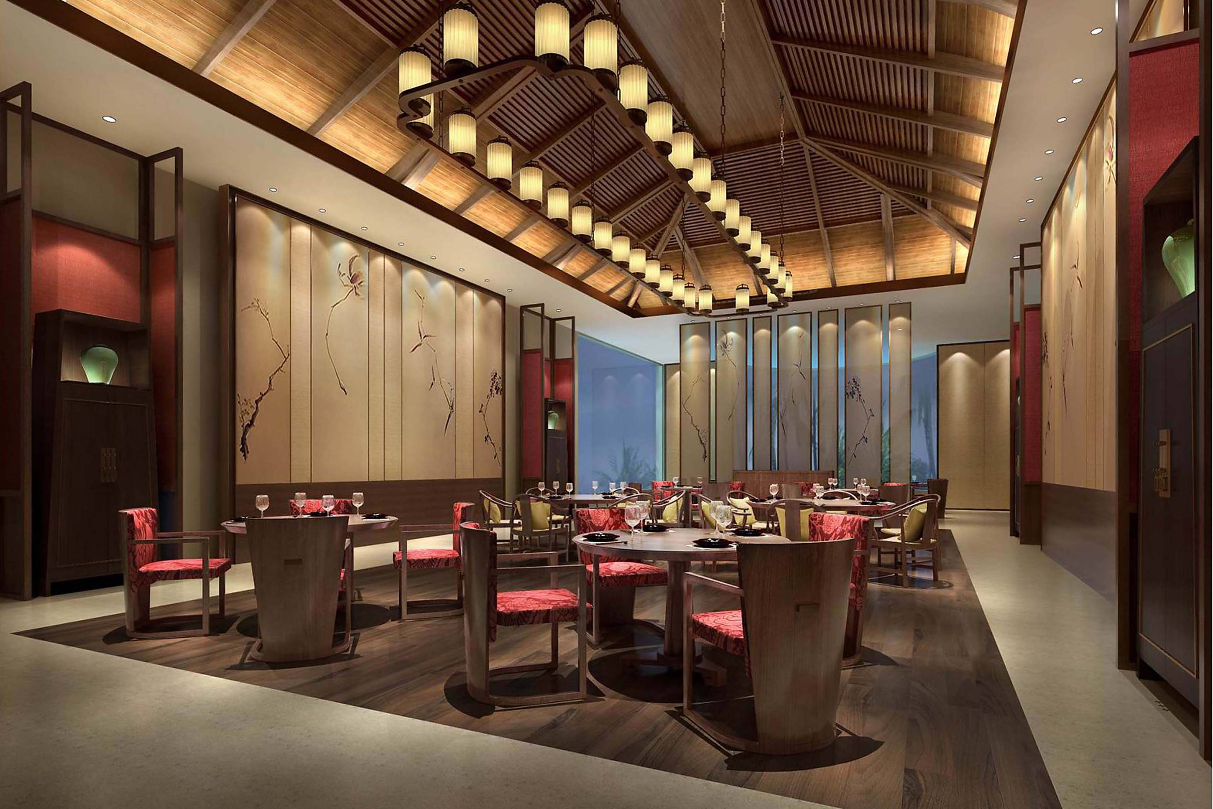 YUE Chinese Restaurant - Rendering