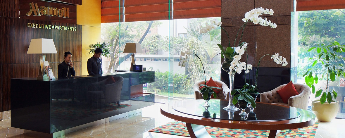 Lobby Area at The Mayflower Jakarta