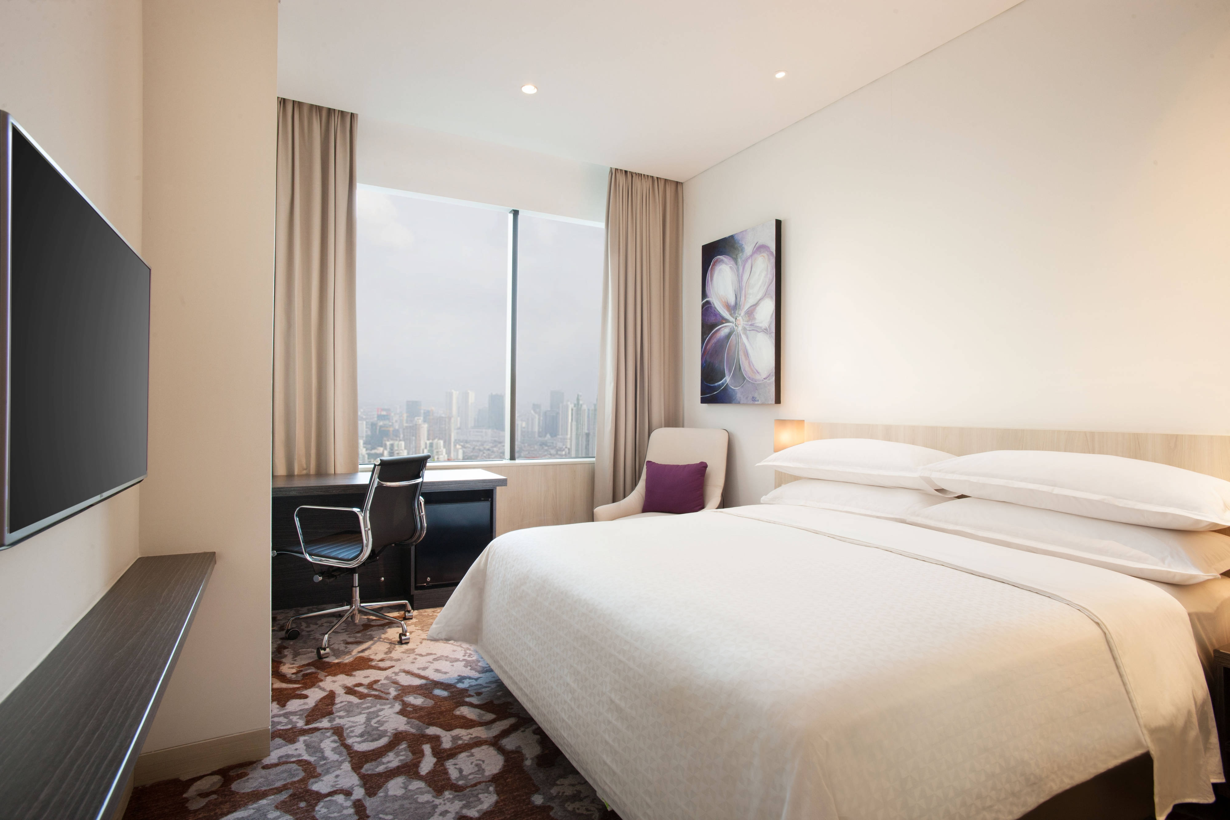 King Deluxe City Guest Room