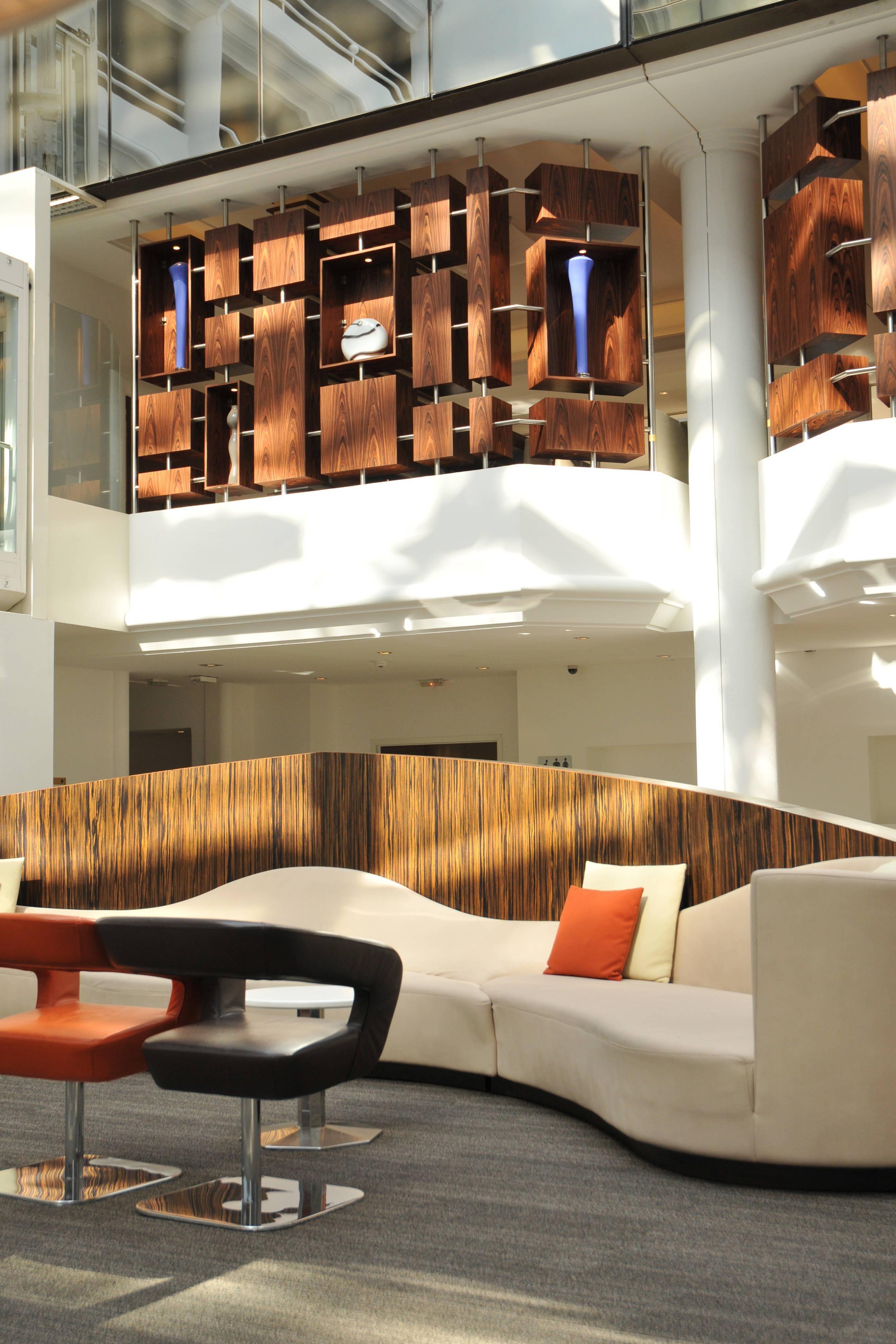 Lobby central Atrium