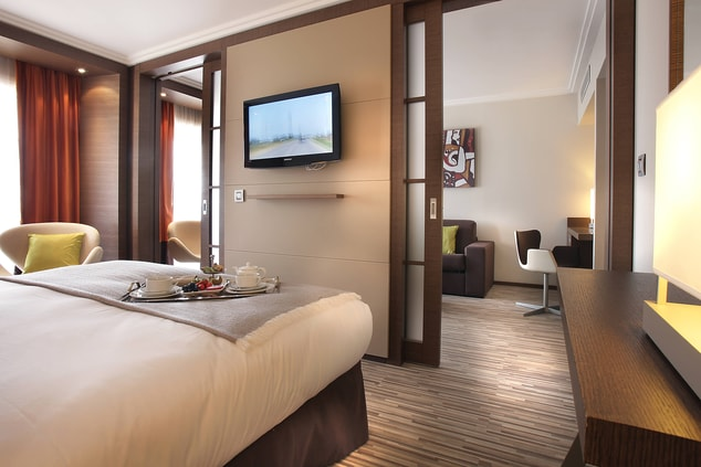 Antibes luxury hotel guest rooms
