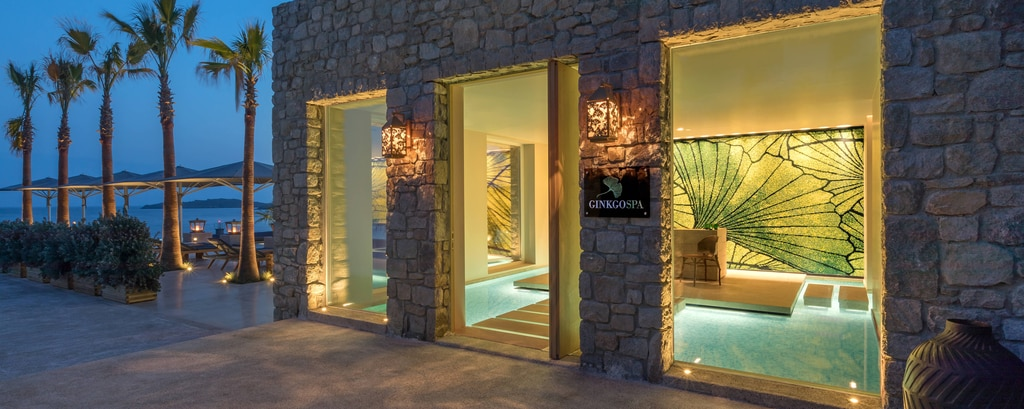 Ginkgo Spa Entrance