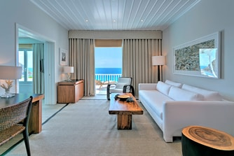 Deluxe Sea View Suite with Pool Living Area