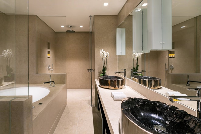 Two-Bedroom Suite with Pool Bathroom