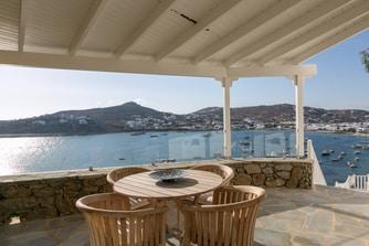 Villa Topaz Veranda with sea Views