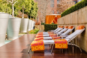 Outdoor Pool – Loungers