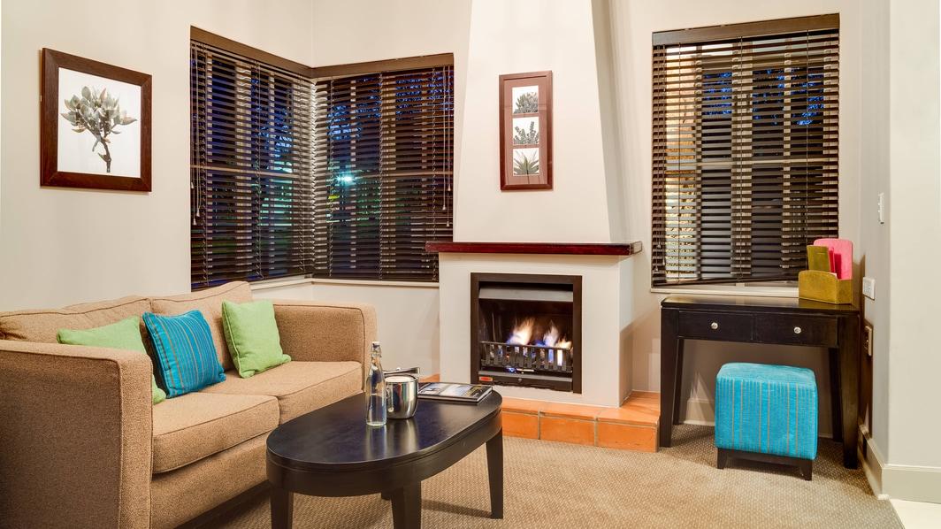 Acomodação em Villa, área do lounge