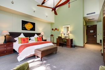Superior King Guest Room Sleeping Area