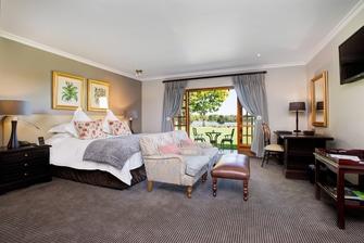 Deluxe Guest Room Sleeping Area