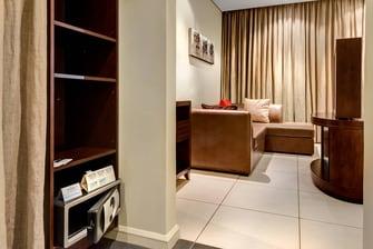 Protea transit lounge area