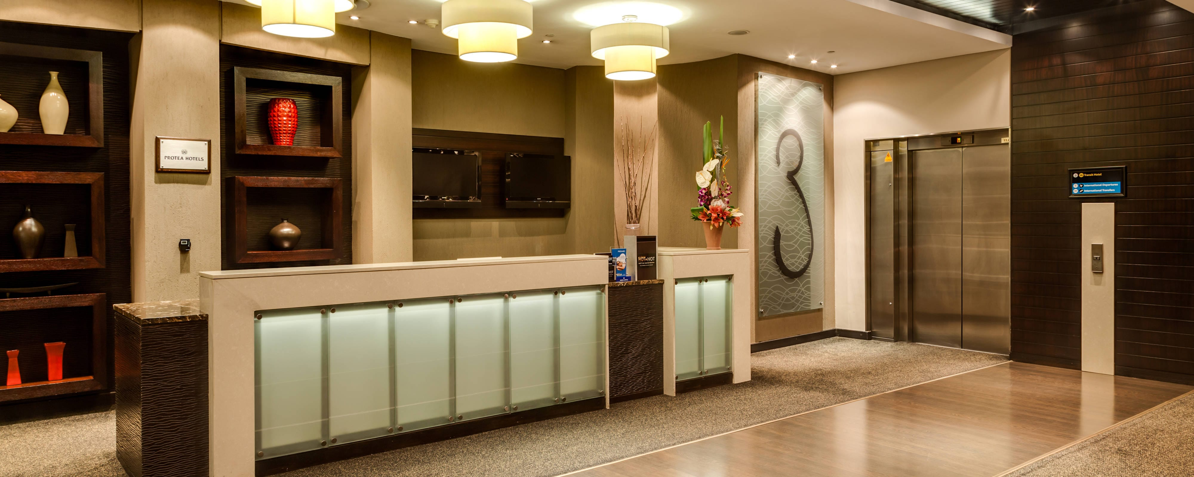 Protea Hotel Transit Reception Area