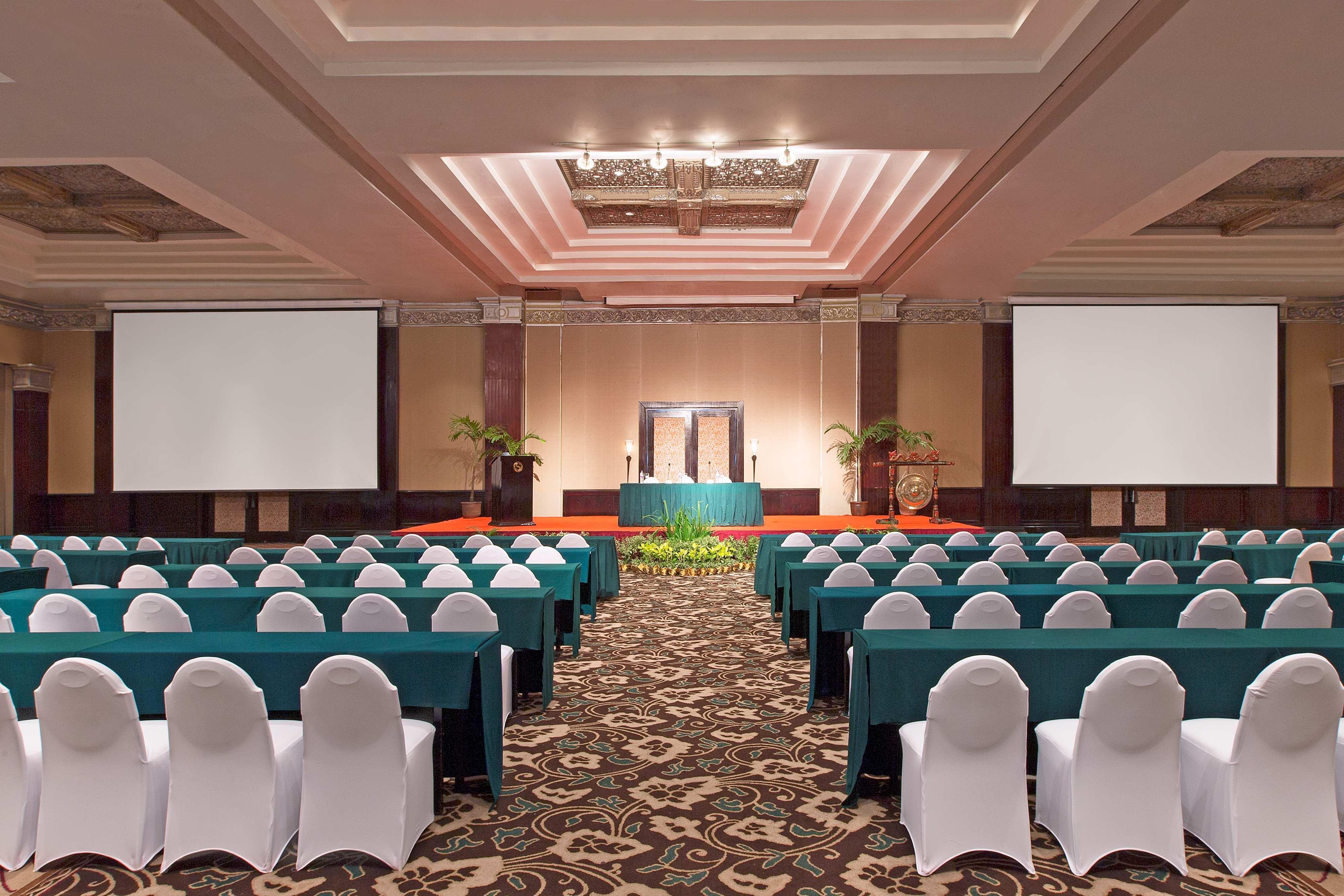 Classroom Set-up at Mataram Grand Ballroom