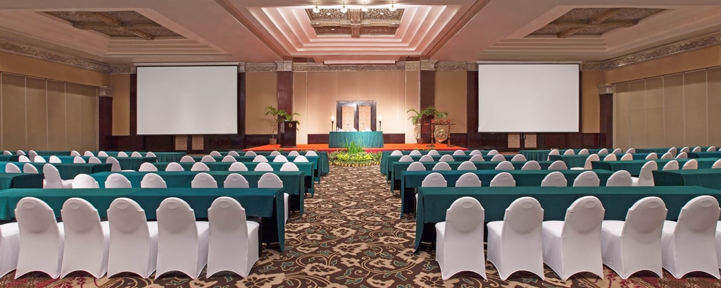 Classroom Set-up at Mataram Grand Ballroom