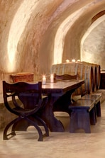 Canava Wine Bar monastery Tables