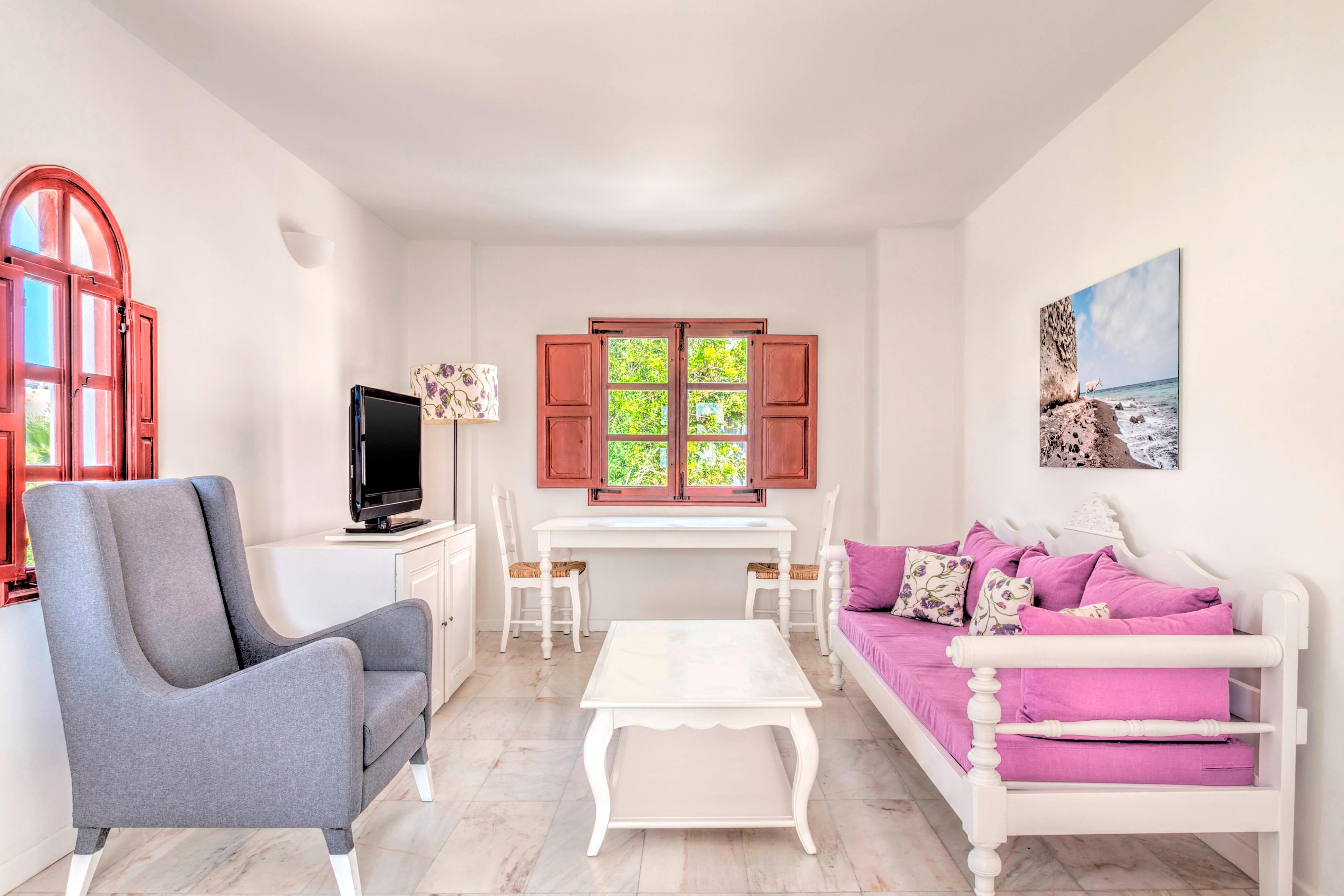 Athenian Suite - Living Area