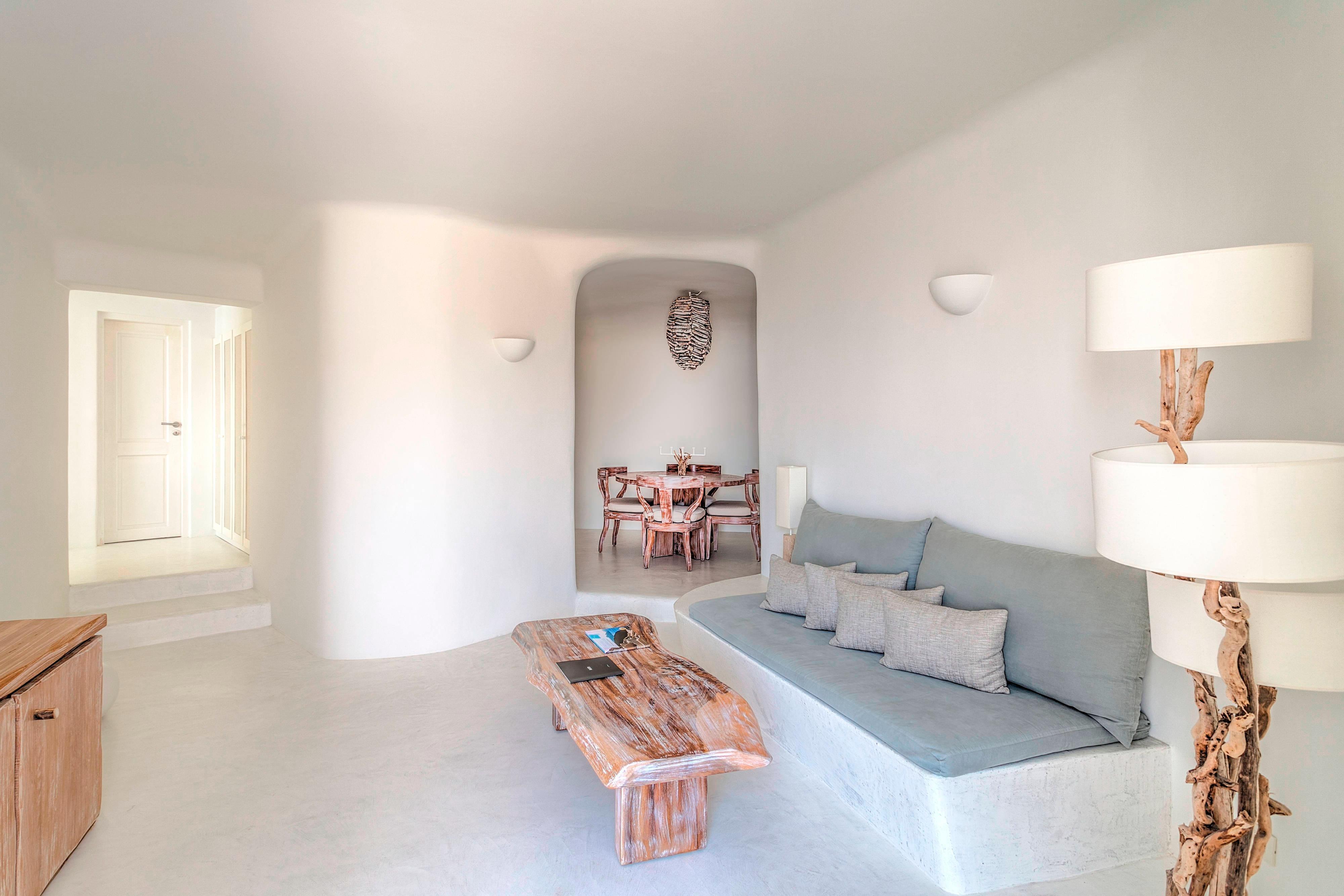 Mystery Villa Living Area