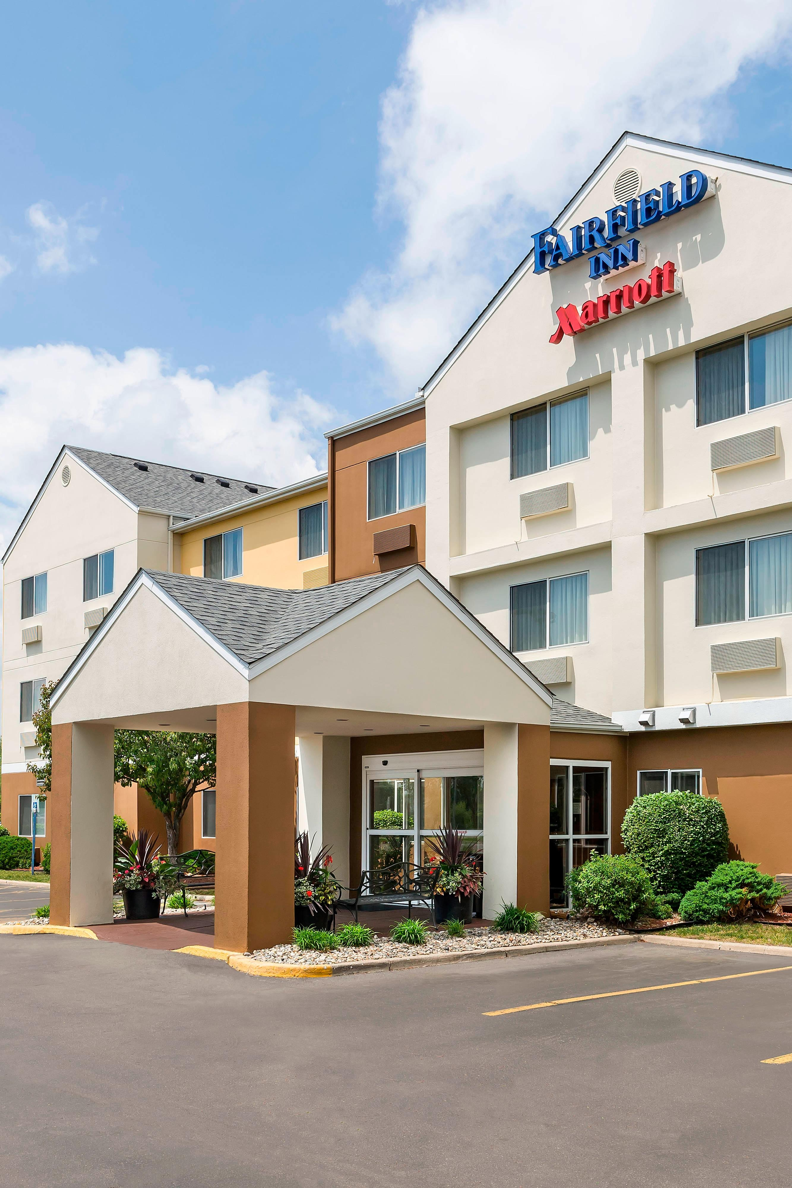 Exterior Marriott Hotel Jackson Michigan