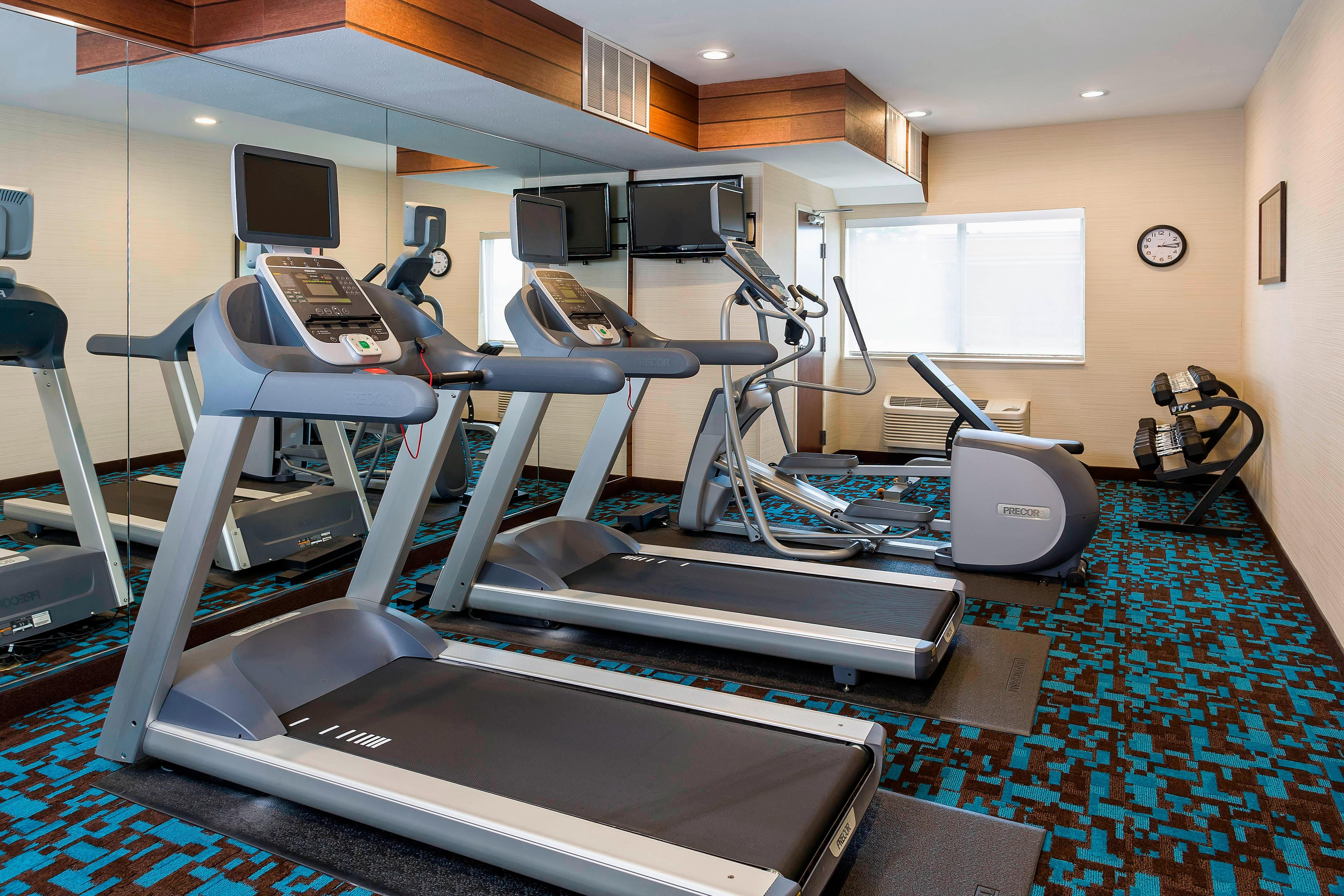 Hotel Gym in Jackson Michigan