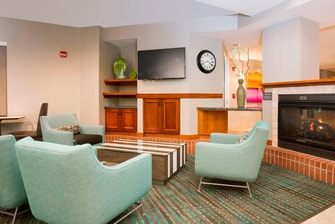 Olathe Kansas Hotel Lobby Seating