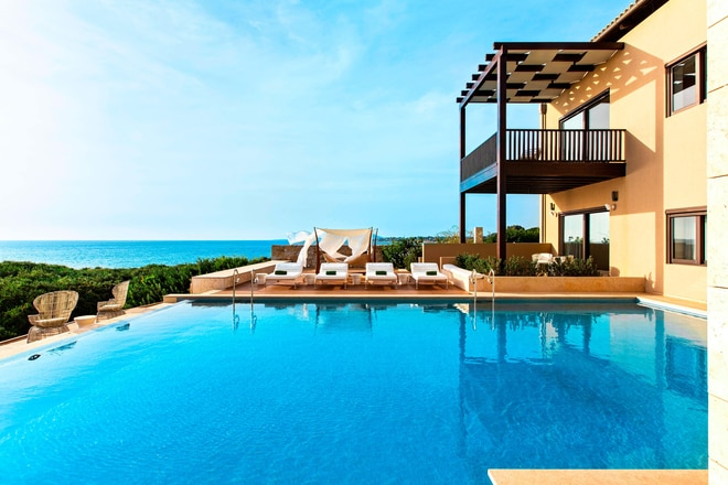Koroni Royal Villa Pool
