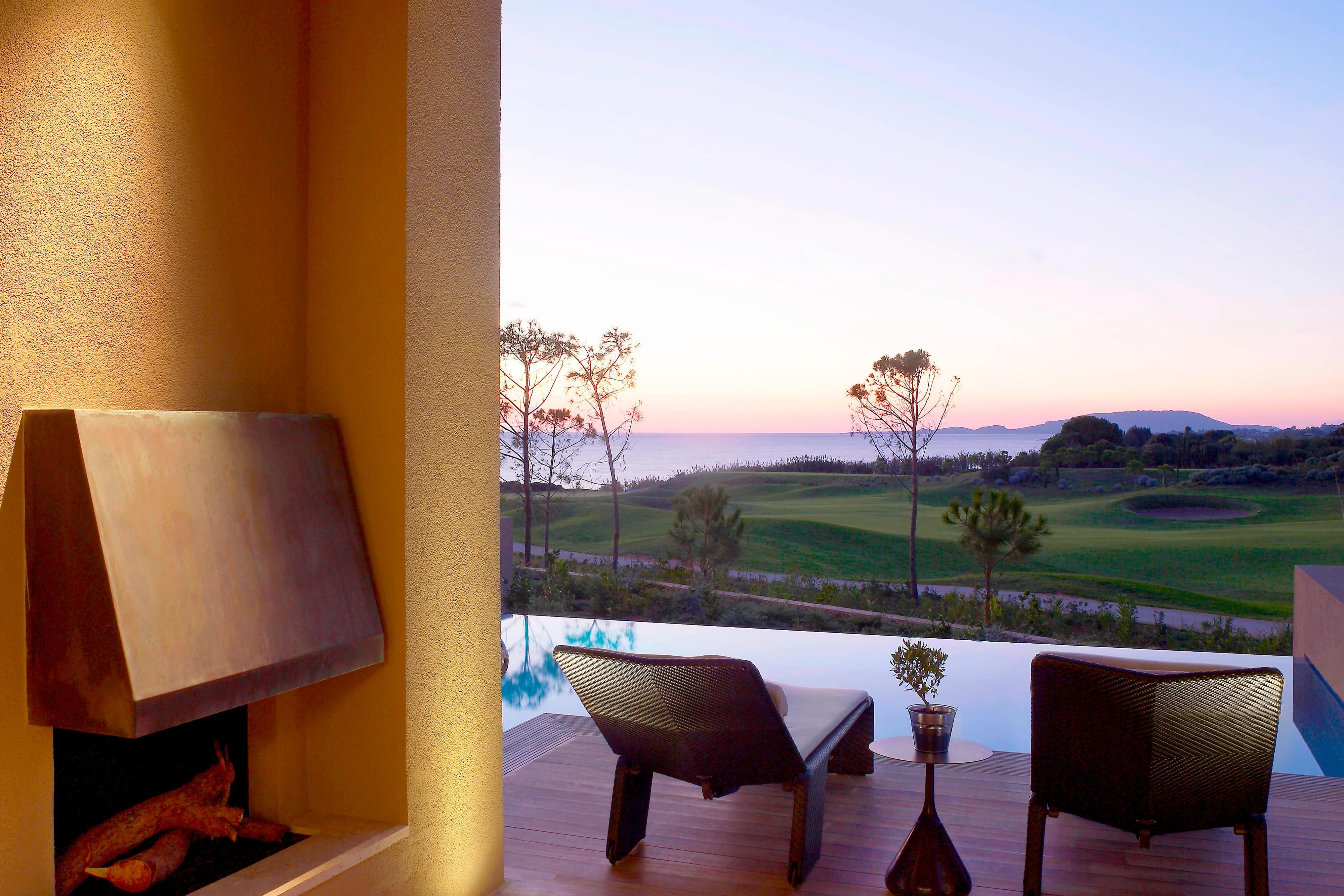 View from the Ionian Exclusive Grand Infinity Suite