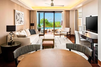 Ionian Exclusive Grand Infinity Sea Suites - Living Room