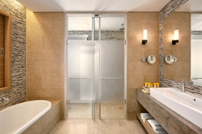 Bathroom of Villa Koroni
