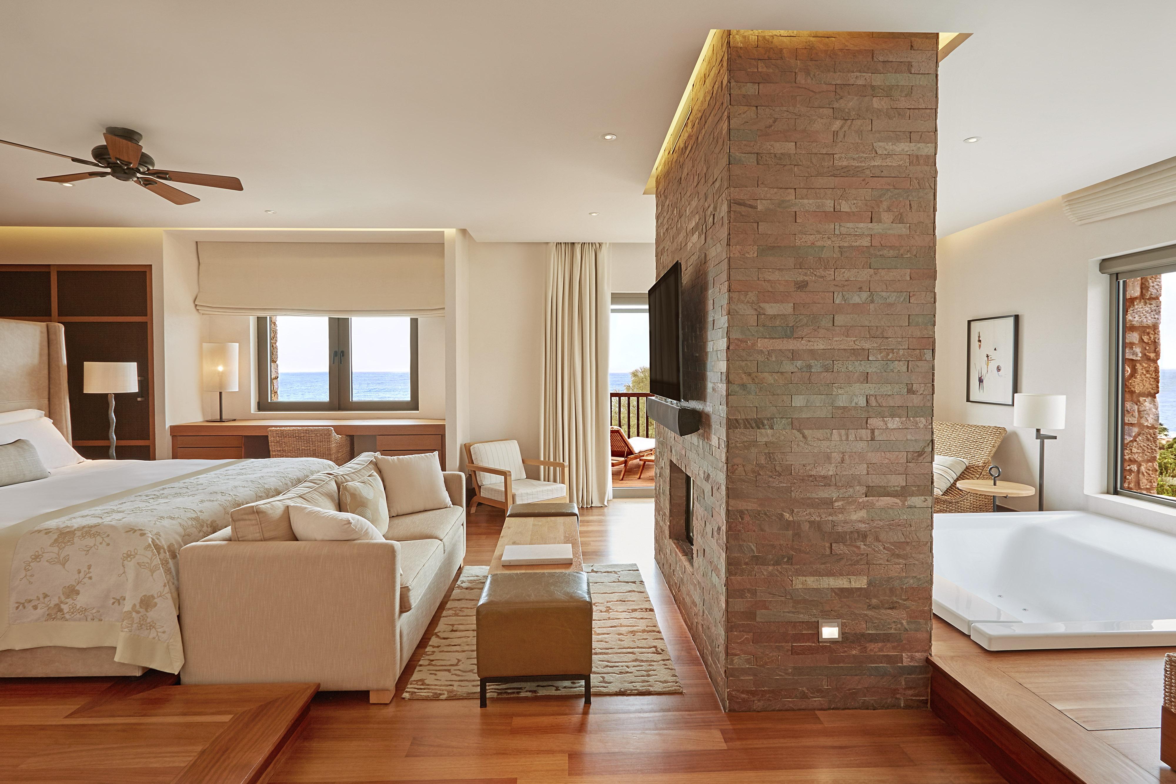Master Bedroom of Royal Villa Methoni