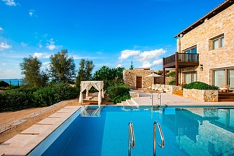 Private Pool of Royal Villa Methoni