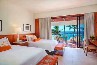 Double/Double Guest Room - Oceanview