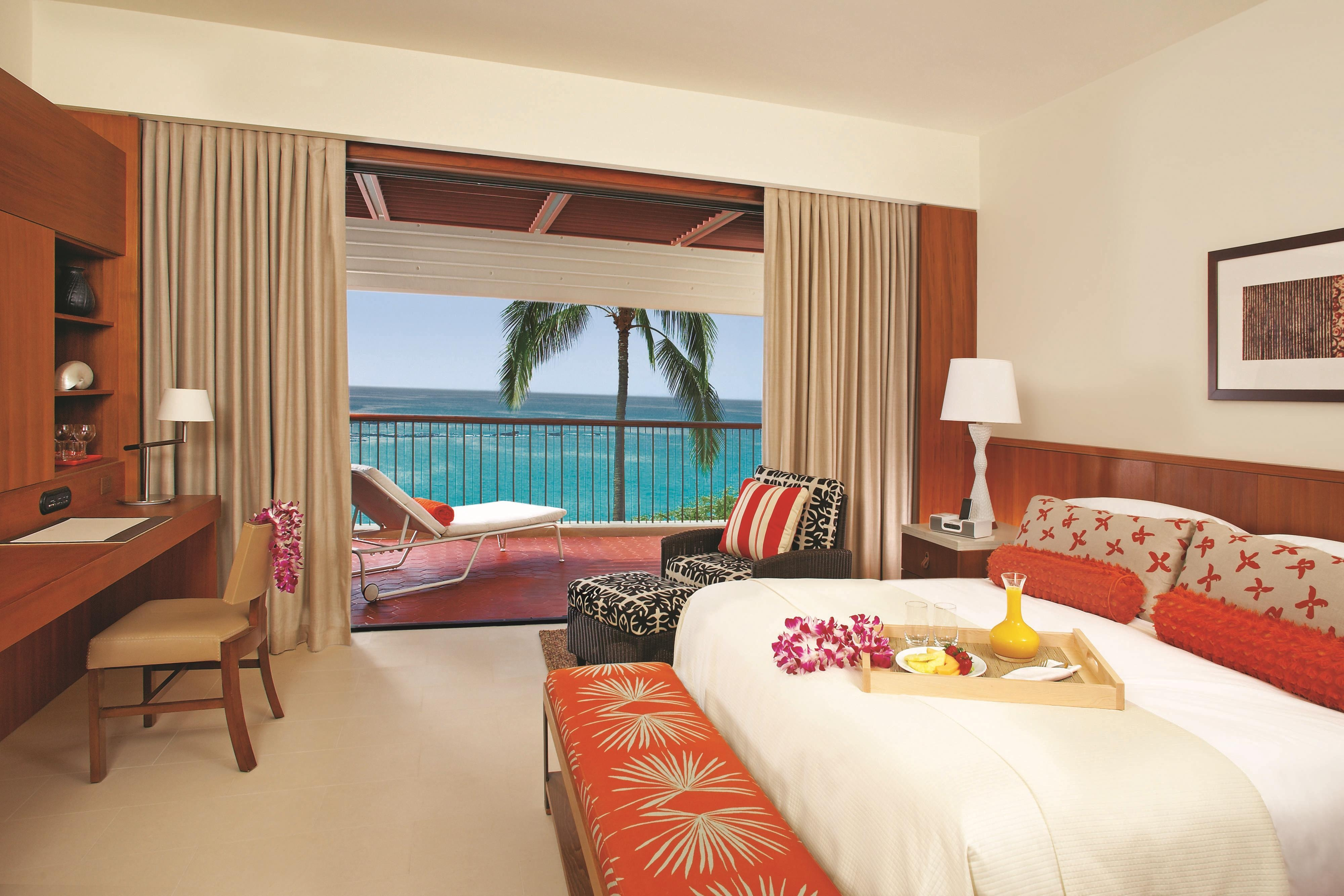 Deluxe Ocean View King Guest Room