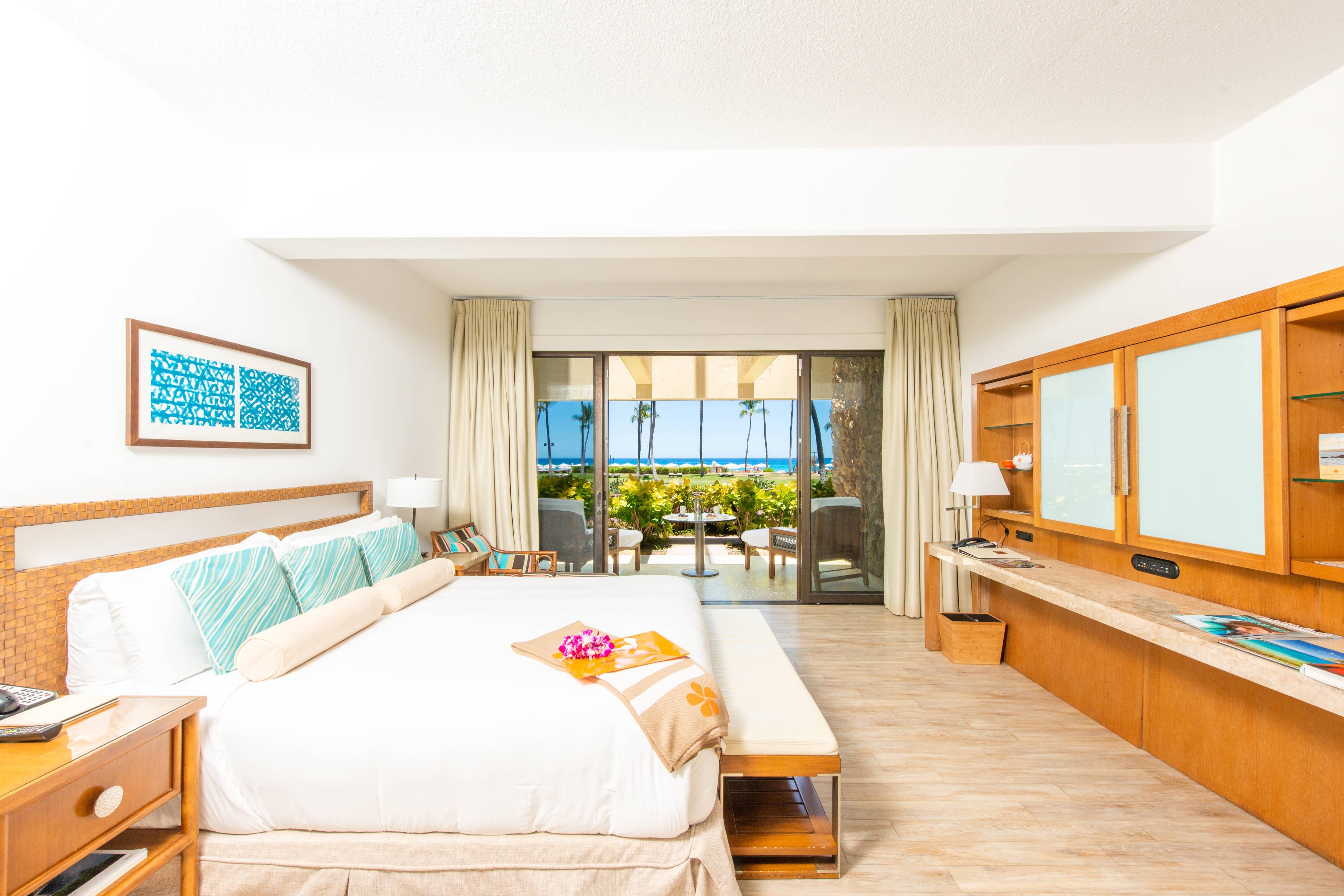 Gästezimmer am Strand mit Kingsize-Bett– Erdgeschoss