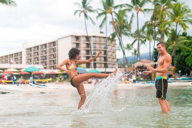 Kailua Kona, HI beach