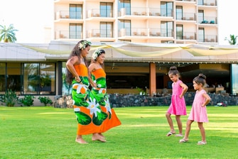Big Island hula dance lesson