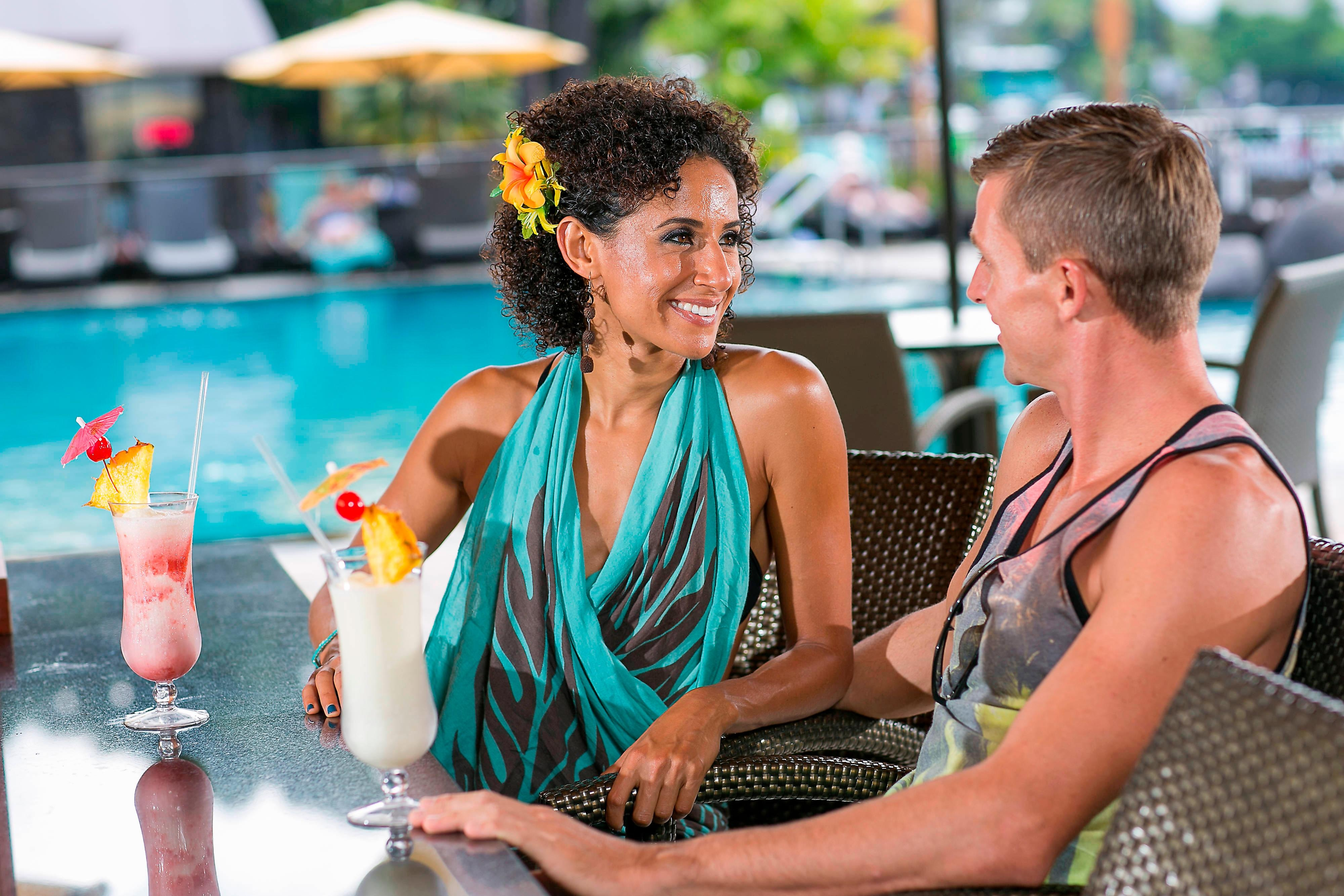 Billfish Poolside Bar Tropical Drinks