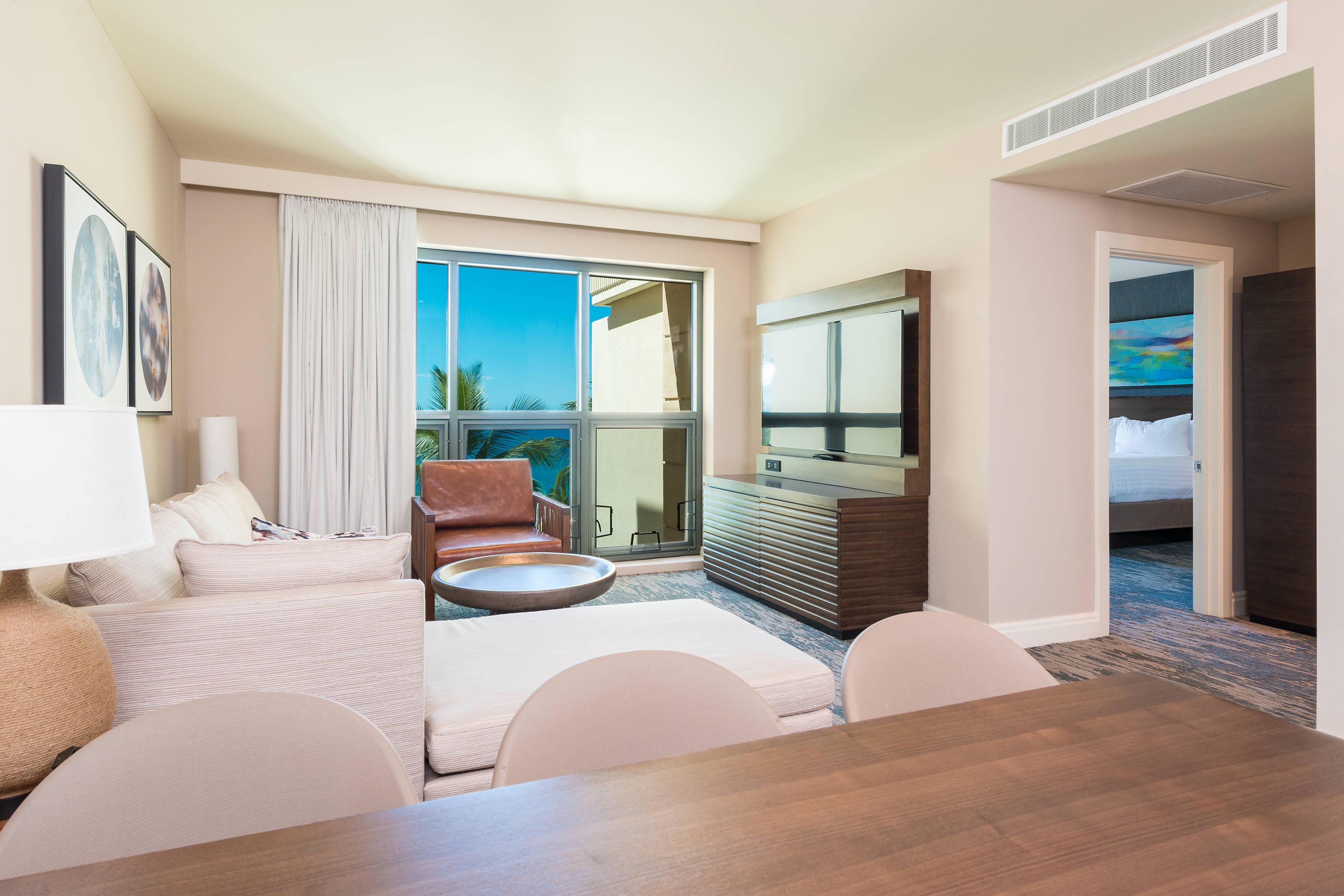 Premier Ocean View Suite - Living Area