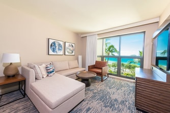 Premier Ocean View Suite - Living Area