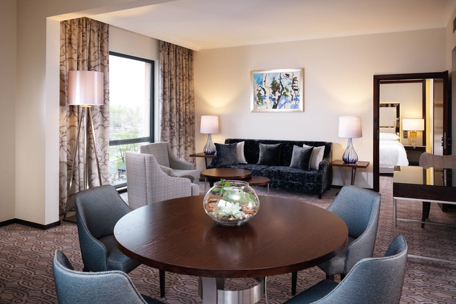 Grand Deluxe Suite - Living Area