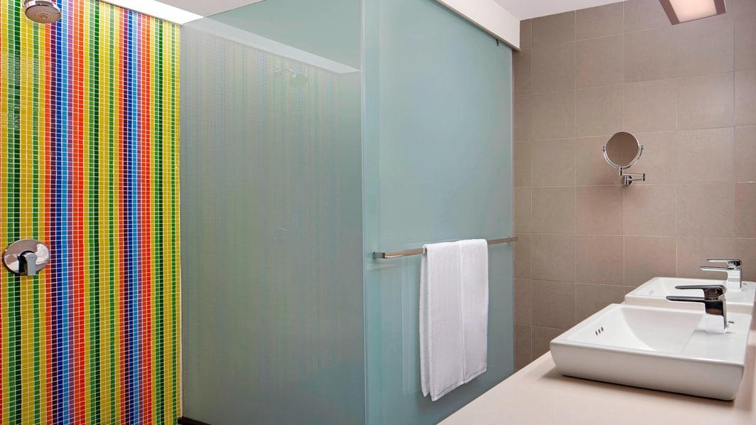 Ванная комната люкса