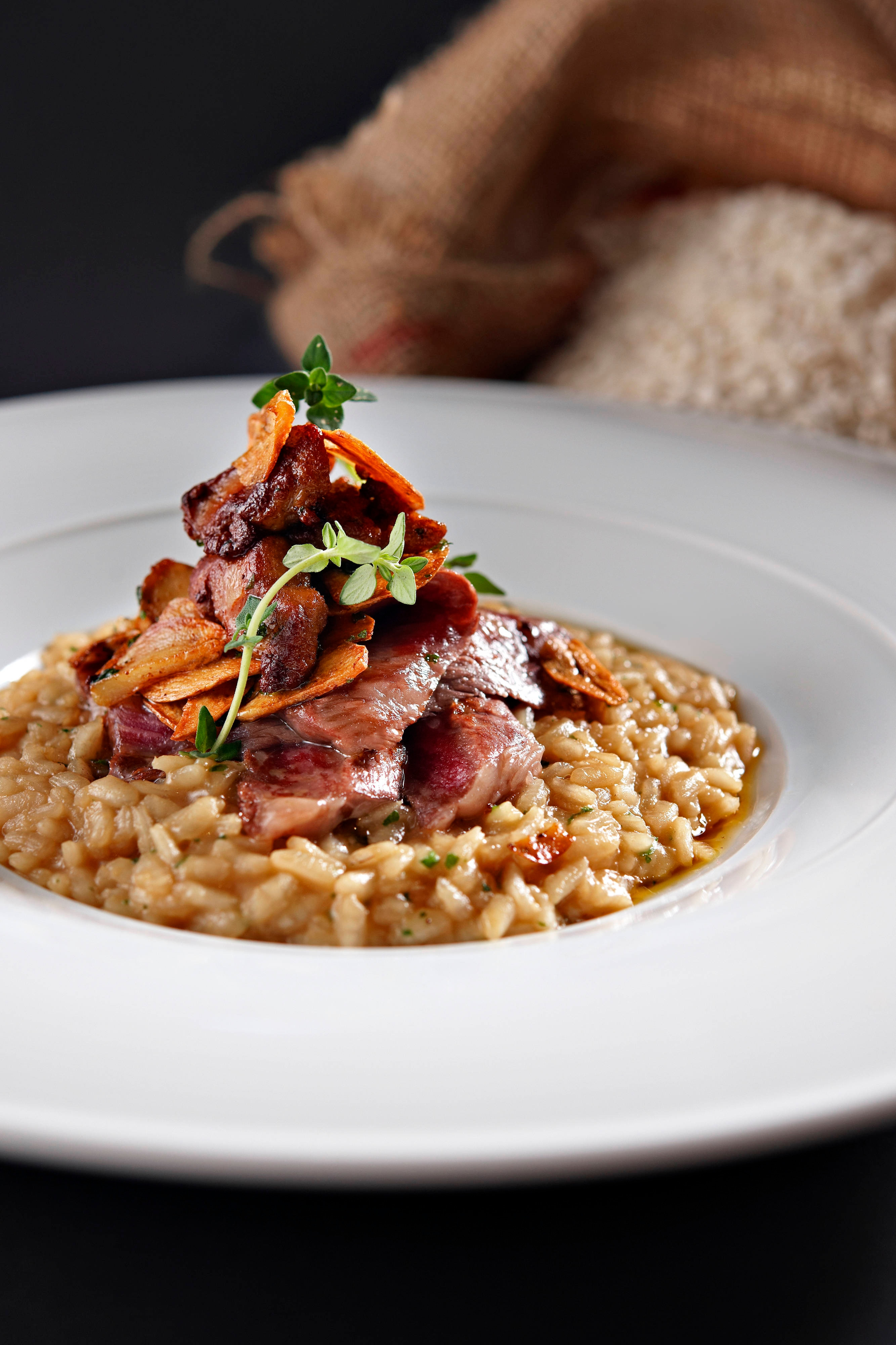Favola - Clear Beef Consomme Risotto