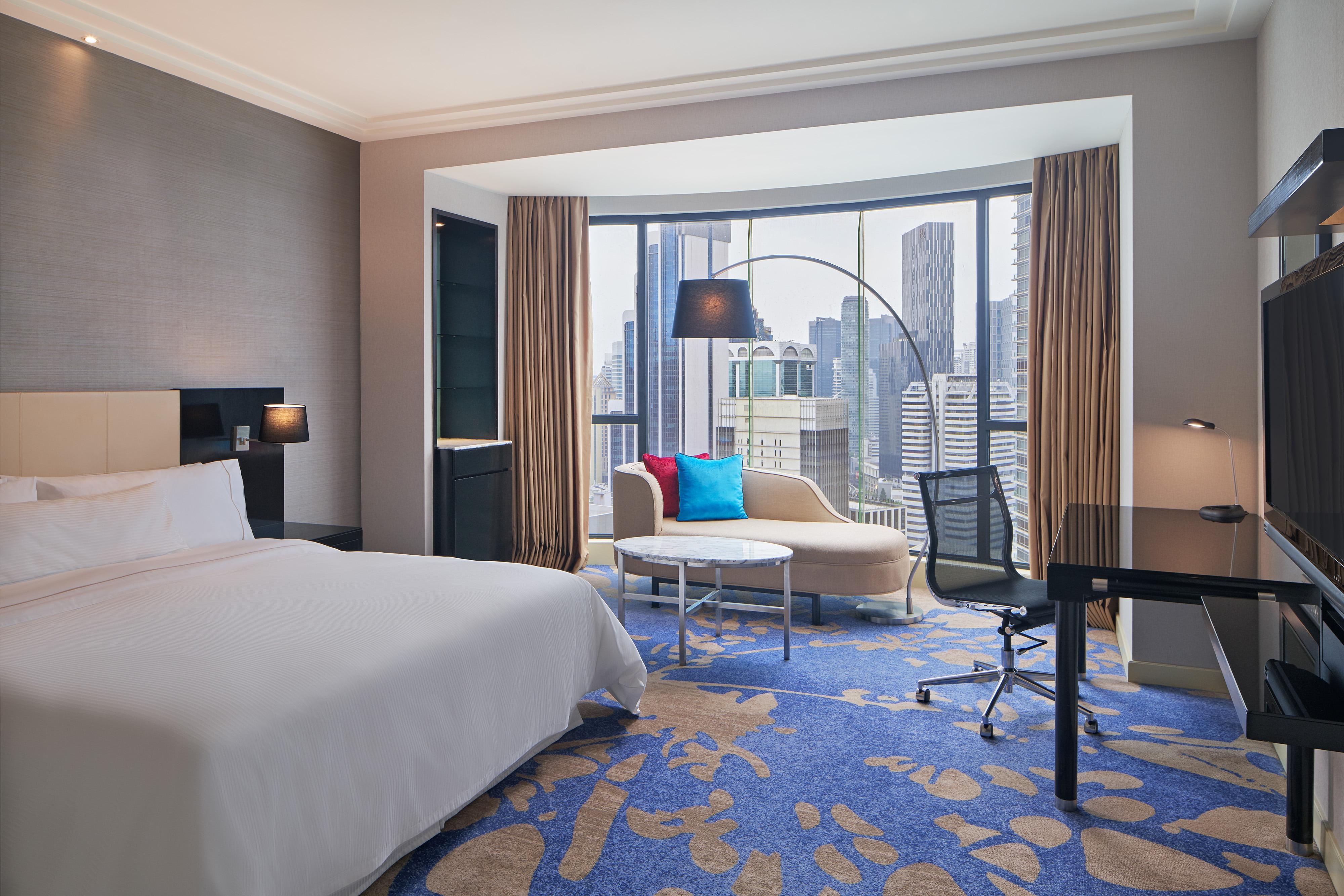 Premium-Gästezimmer mit Kingsize-Bett