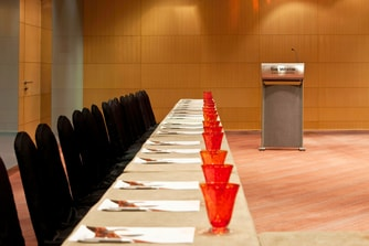 The Synergy Room - Boardroom set up